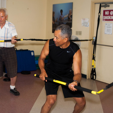 Jewish Senior Center Resistance Workout