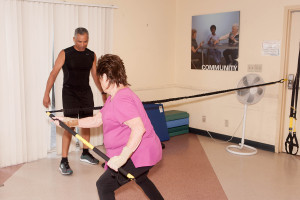 Senior Resistance Training With THE TRX RIP TRAINER From Total Body Improvement