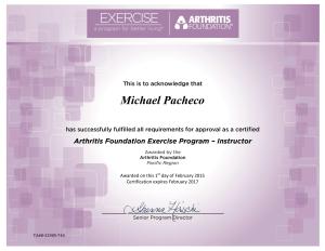 Arthritis Foundation Exercise Program